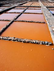 Las Salinas: salt refinery
