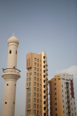 mosques and skyscrapers