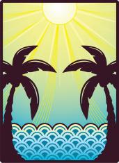 Sunshine and palm trees