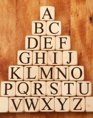 Building Blocks - Alphabet