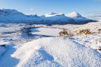 Scottish winter landscape