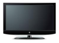 Black LCD, LED or Plasma TV Screen.