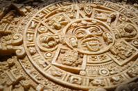 Aztec calendar detail