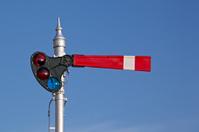 Old Fashioned Railroad Signal