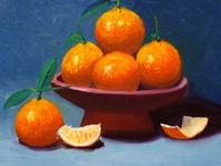 Oil Painting - Orange