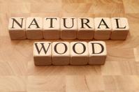 Building Blocks - Natural Wood