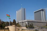 Baku, Azerbaijan, the parliament house