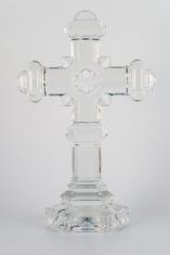 cross - clear glass