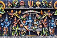 Wedding statue of Ramar And Seetha