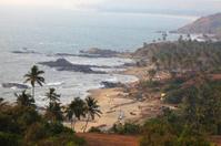 Vagator Beach in Goa, India.