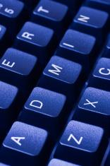 ADMIN written in keys