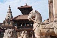 Nepal Bhaktapur ancient temple shrines UNESCO World Heritage Sit