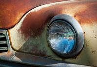 Junkyard headlight