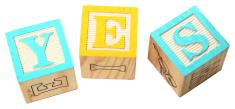 Alphabet Blocks YES