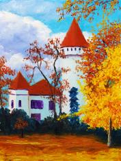 Oil Painting - Castle