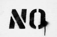 no stencil