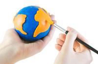 Draw globe