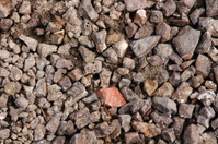 Rocky gravel