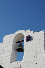 The church bell in central Lindos