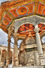 Mosque Of Muhammad Ali Pasha Courtyard - HDR