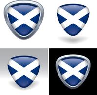 Scottish Flag Crest