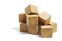 Pile of Wooden Blocks