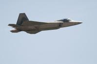 F-22 Raptor Side View