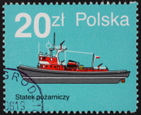 Polish postage stamp