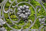 Lattice of the Mikhajlovsky garden