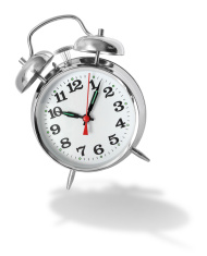 Alarm clock bouncing
