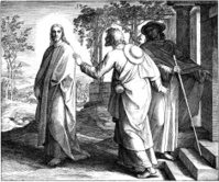 Disciples on Road to Emmaus