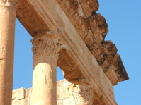 Temple of Minerva close view