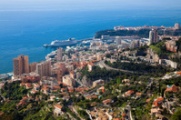 Monaco (Monte Carlo) aerial view