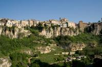 Cuenca Spain cityscape