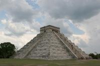 Mayan or Aztec Pyramid
