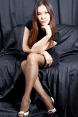 Asian sexy beauty- Sitting