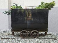 Old german coal mining lorry