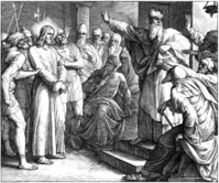 Jesus' Trial Before Caiaphas