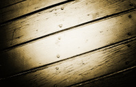 Wood wall