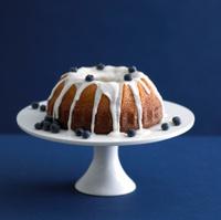 Kugelhopf Blueberry Cake