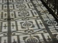 Lattice Shadow on  Floor