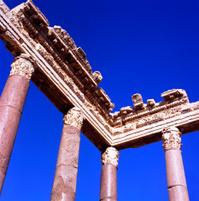 Roman columns at Heliopolis