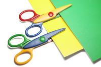 Scissors and paper