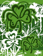 St. Patrick's Day Graffiti