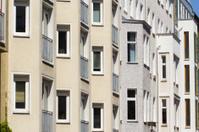 Fassade of buildings in Berlin