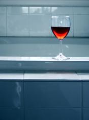 wine and a bath