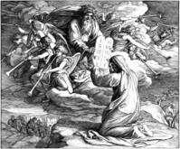 Moses Receives 10 Commandments