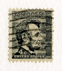 Abraham Lincoln Postage Stamp