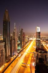 metropolis at night