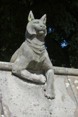 Lynx statue, Cardiff Castle